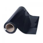 Decal ép nhiệt PVC mầu đen - P021