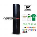 Decal PVC đen phù hợp cắt số, chữ logo áo sáng mầu giá tốt