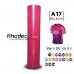 Decal nhiệt PVC mầu hồng khổ 60cm x 50m giao ngay tại Hà Nội