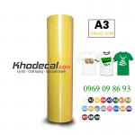 Decal cắt PVC vàng kim giá rẻ nhất thị trường chỉ từ 69k/m