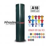 Decal PVC xanh đậm chuyển nhiệt khổ lớn giá chỉ 1.390.000đ