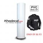 Decal cắt PVC ép đồng phục hội nhóm Phượt logo công ty