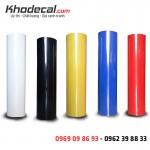 Decal PU cắt ép chuyển nhiệt mầu cơ bản chống nhiễm khổ 60cm và 50cm